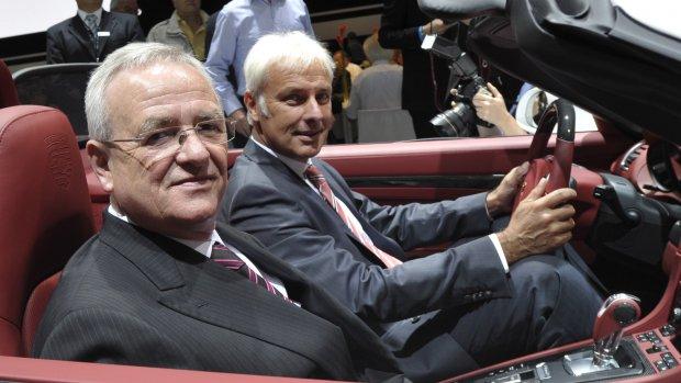 'Winterkorn wil vinger in pap houden bij Volkswagen'