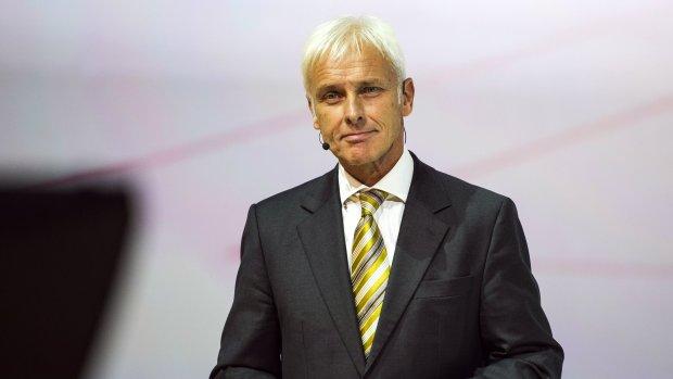 Matthias Müller nieuwe topman Volkswagen