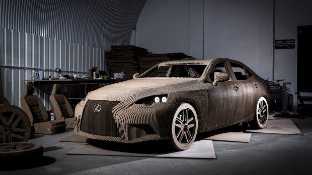 Lexus presenteert 3D geprinte auto