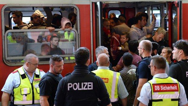 Politie Duitsland kampt met tekort voor 'taak van de eeuw'