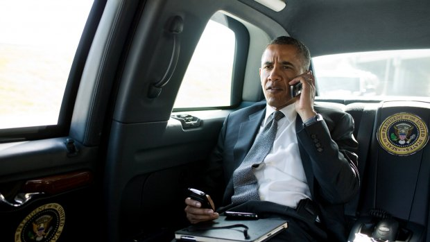 Obama belooft je smartphone voorlopig nog niet af te tappen