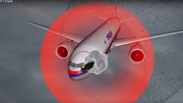 Animatie: zo werd MH17 neergehaald