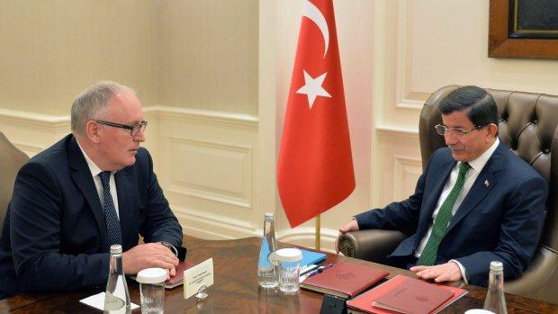 Migrantenplan met Turkije: EU is positief