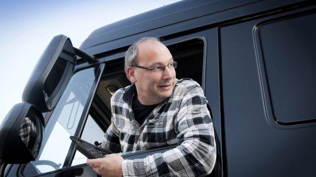 'Gegarandeerde baan voor 2000 vrachtwagenchauffeurs'