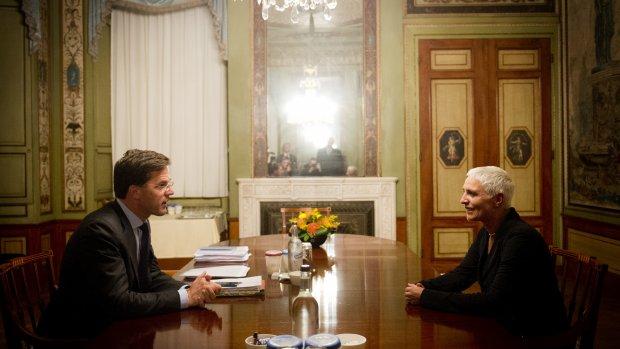 Rutte: Spijtig voor kabinet dat we Mansveld moeten missen