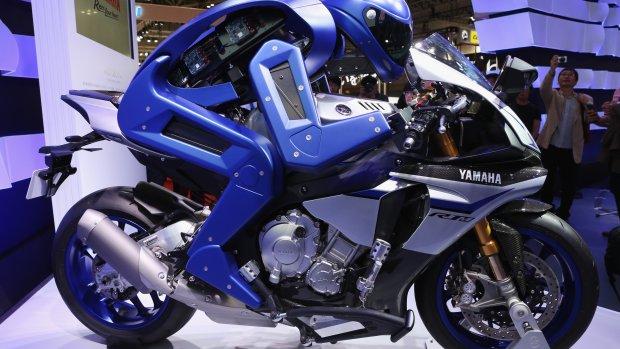 Wint deze motorrijdende robot binnenkort de TT Assen?