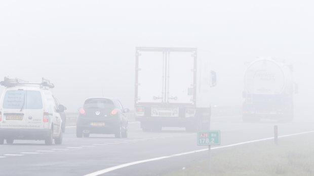 De weg op? Houd rekening met mist