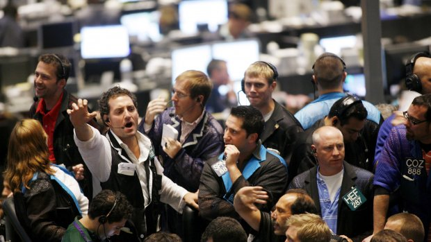 Bankaandelen uit de gratie op de beurs