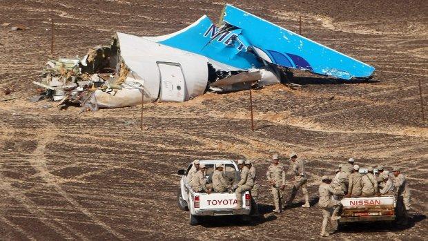 'Flits waargenomen bij vliegtuig kort voor crash'