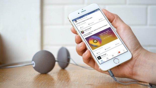 Spotify-liedjes nu direct vanuit de Facebook-app te spelen