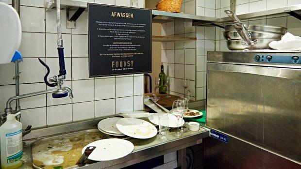 Foodsy foetsie! Onbemand restaurant was pr-stunt FNV