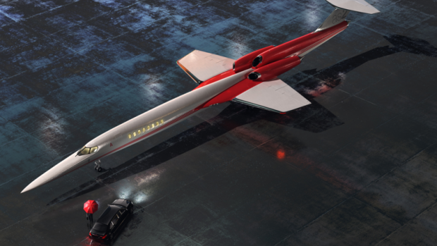 Supersonisch zakenvliegtuig pas in 2023 klaar