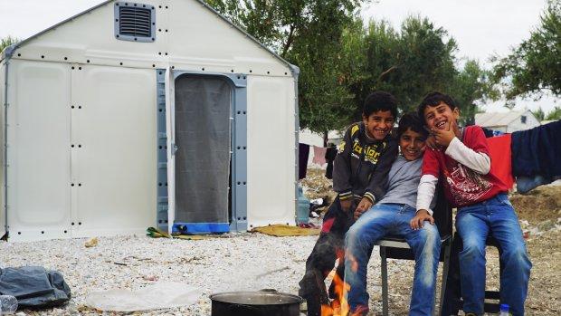 Ikea bouwt eerste huizen voor vluchtelingen in Griekenland