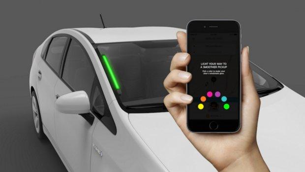 Uber-klant kan zelf kleur van taxi instellen