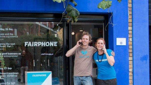 Nederlandse startup Fairphone wint VN klimaatprijs
