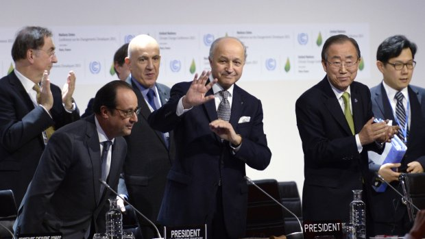 Concept klimaattekst voorgelegd aan landen
