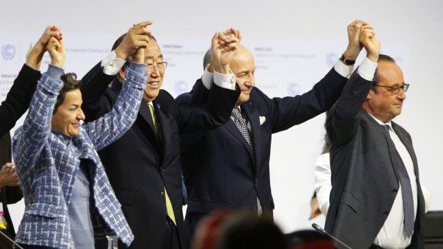 'Historisch' klimaatakkoord van Parijs moet keerpunt inluiden