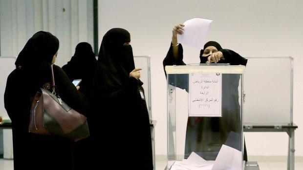 Vrouw gekozen in raad Mekka