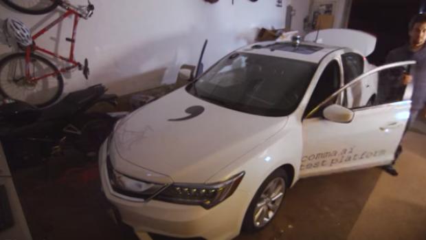 Eerste hacker iPhone bouwt zelfrijdende auto in zijn garage