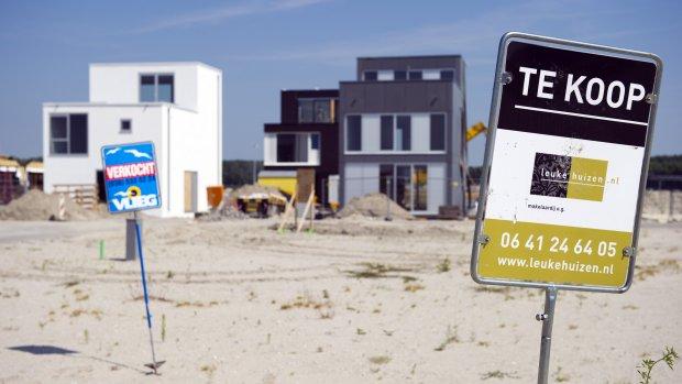 Oververhitte huizenmarkt Randstad problematisch voor kopers