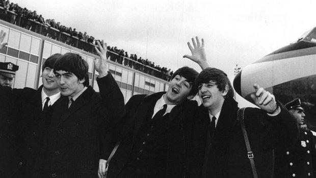 Beatles-kerstkaart voor 3.000 euro te koop