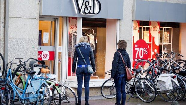 V&D bang voor boze klanten: extra beveiliging