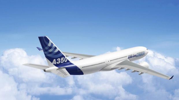 Nieuw vliegtuig Airbus houdt toiletbezoeken passagiers bij