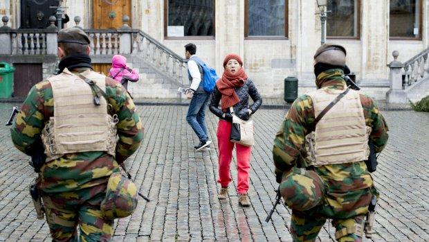 Terreurniveau Brussel omlaag