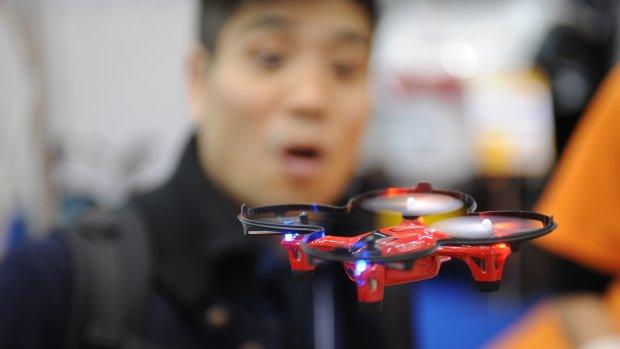 Drones besturen met 'The Force'