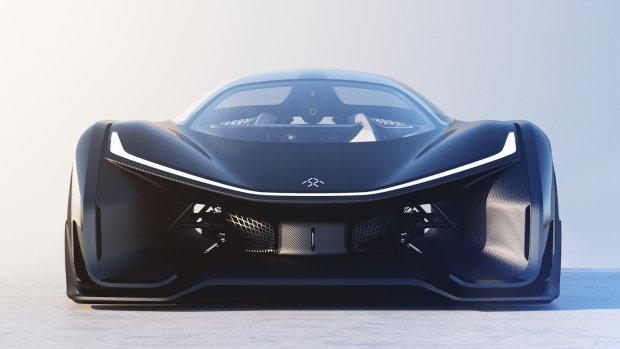 Faraday Future onthult concept car: auto van de toekomst