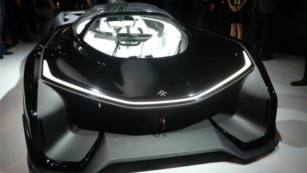 Dromen met de geheimzinnige Tesla-concurrent Faraday Future