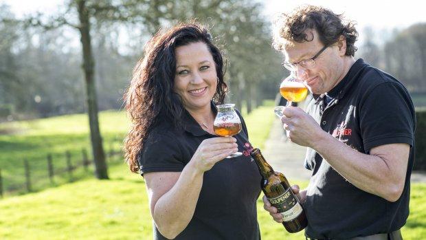 'In dit glas smaakt ál het bier lekker'