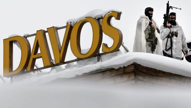 Rijkdom, roem en macht komen samen in Davos
