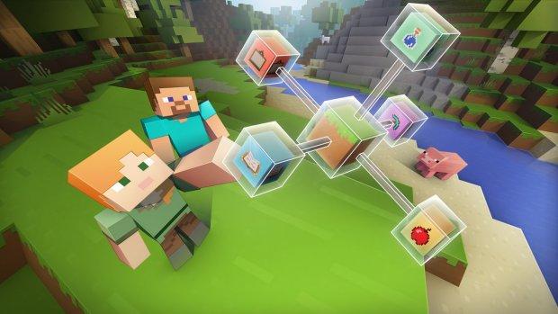 Minecraft voortaan ook in de klas met 'educatie-editie'