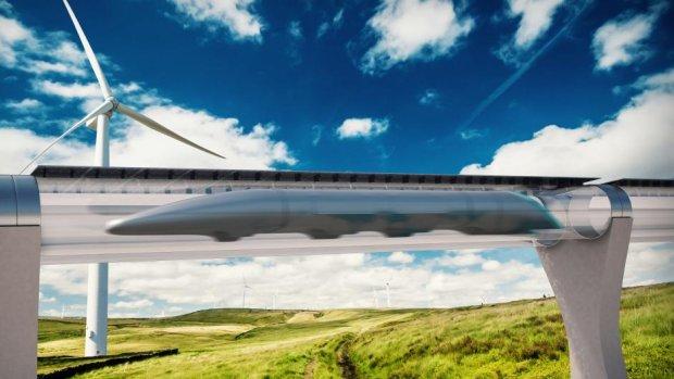 'Over twee jaar reizen de eerste passagiers in Hyperloop'