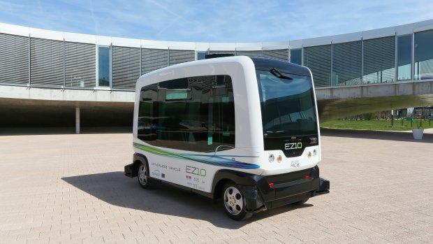 Wereldprimeur: robotauto gaat de weg op in Wageningen