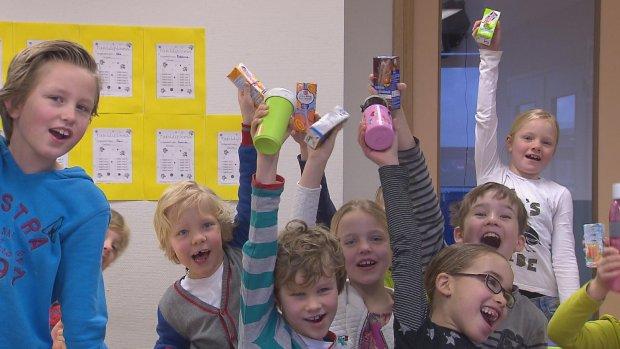 Pakje drinken in schooltas is tikkende suikerbom