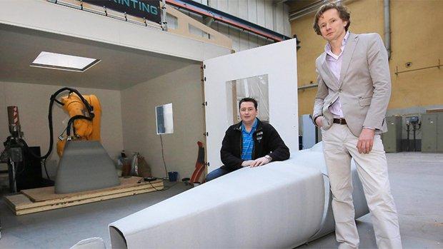 Nederlanders 3D-printen onderzeeër