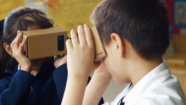 'Google werkt aan een nieuwe virtual reality-bril'