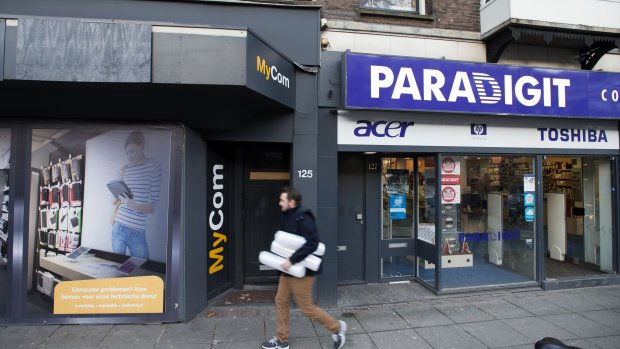 Fysieke winkels Paradigit failliet, webwinkel gaat door