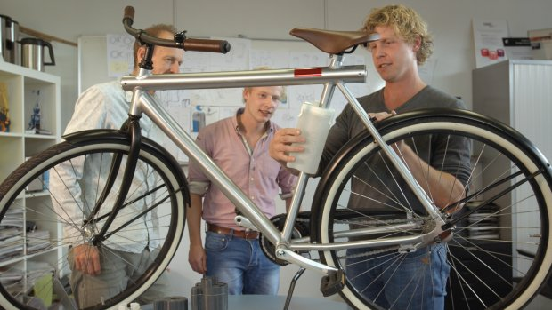 Groningse start-up ontwikkelt 'ultieme waterfles' voor de fiets