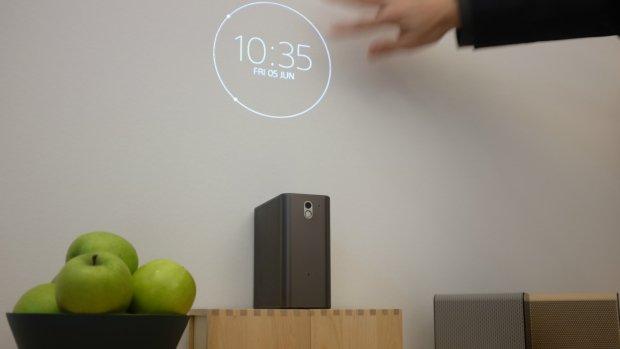 Sony zet vol in op futuristische gadgets