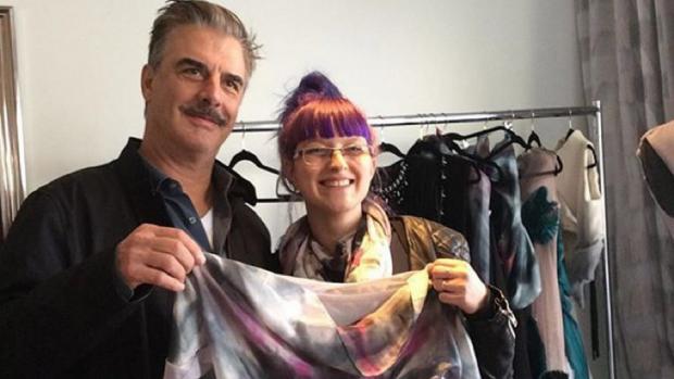 Deze beginnende kledingontwerpster schopt het tot Hollywood