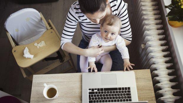 Thuiswerken: we klappen laptop pas laat dicht