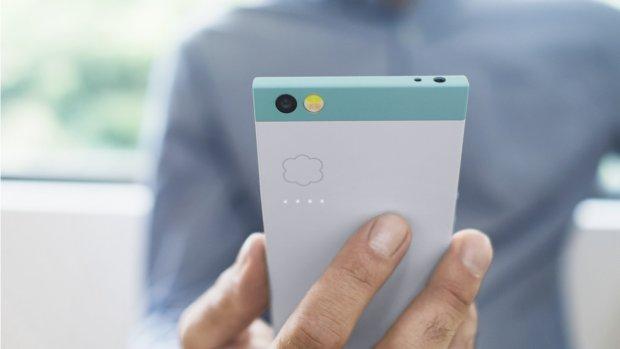 Met deze cloud-smartphone kom je nooit ruimte tekort