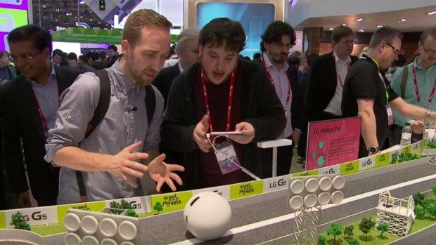 Video: LG-robotbal laat je op afstand met je kat spelen
