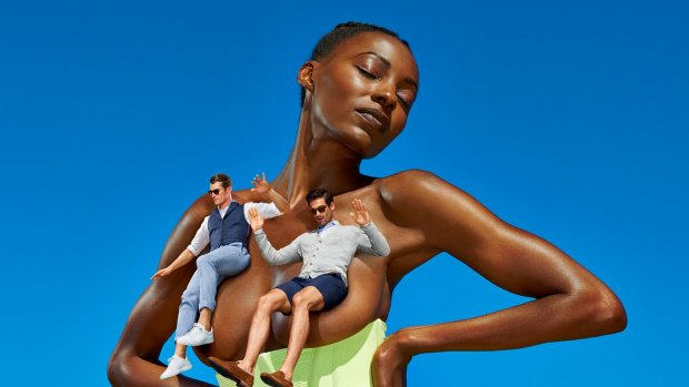 Woede over reclamecampagne met halfblote vrouwen