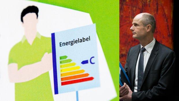 Minister zit ernaast: Brussel nog niet akkoord met energielabel