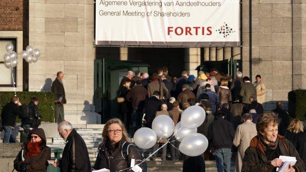 Mega-schikking in Fortis-zaak: 1,2 miljard euro