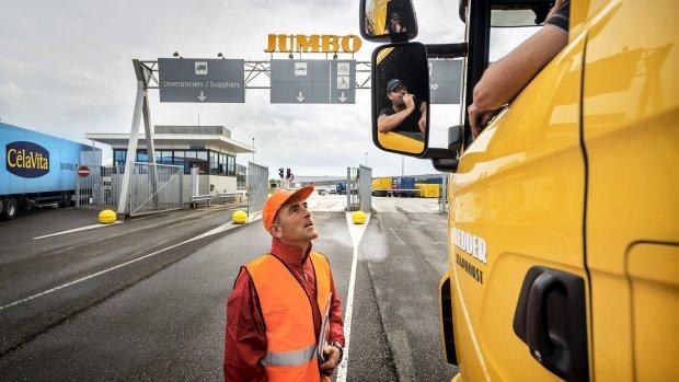 Vakbonden willen half miljoen van Jumbo om breken staking